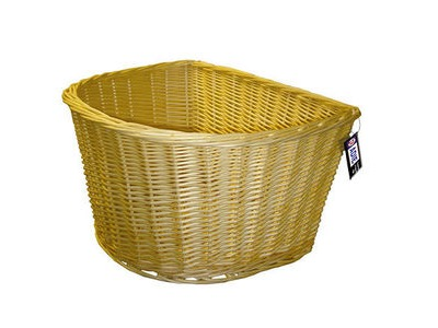 Adie 16' D Shape Wicker Basket