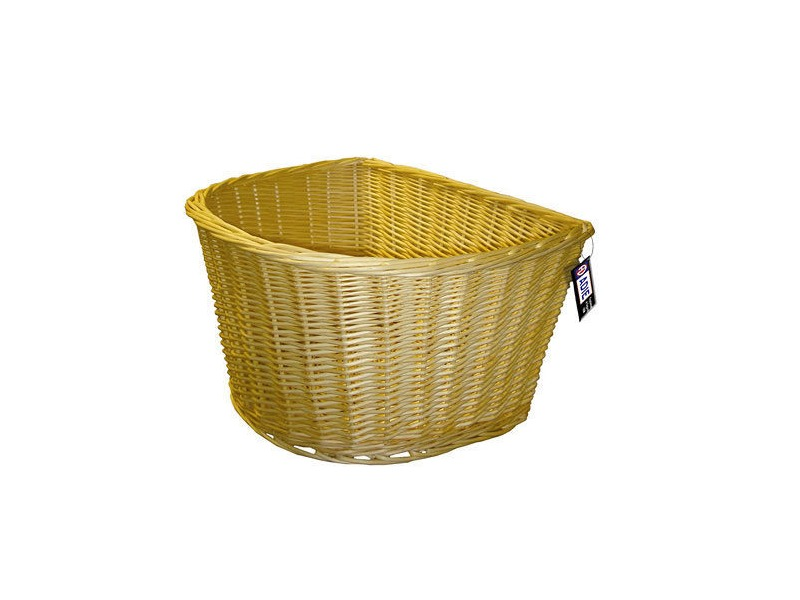 Adie 16' D Shape Wicker Basket click to zoom image