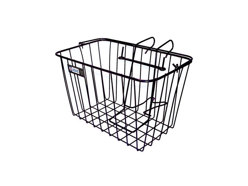 Adie Front Wire Basket in Black - Standard click to zoom image