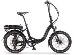 Wisper 806 SE 375w/h Folding Electric Bike 806 SE 375w/h Black  click to zoom image