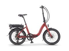Wisper 806 SE 700w/h Folding Electric Bike 806 SE 575w/h Red  click to zoom image