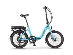 Wisper 806 SE 700w/h Folding Electric Bike 806 SE 575w/h Blue  click to zoom image
