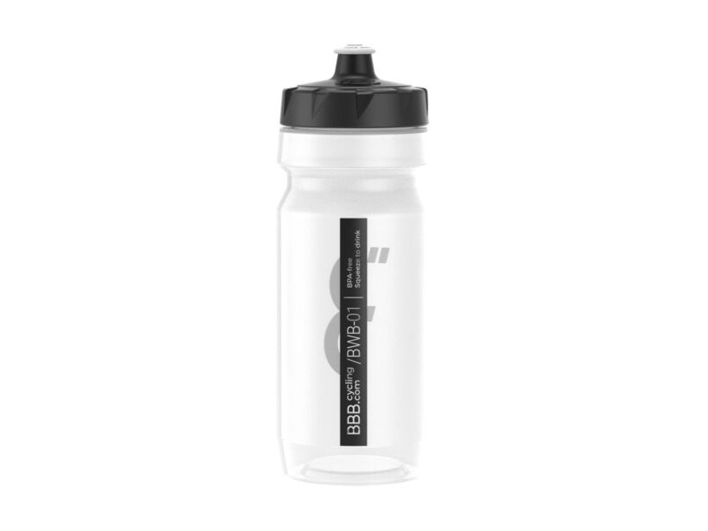 BBB CompTank Water Bottle Clear & Black click to zoom image