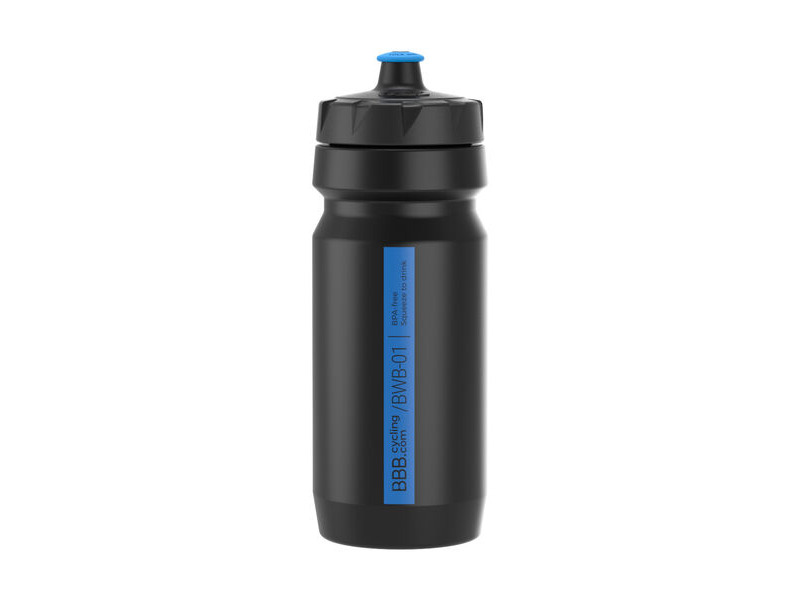 BBB CompTank Water Bottle Black & Blue click to zoom image