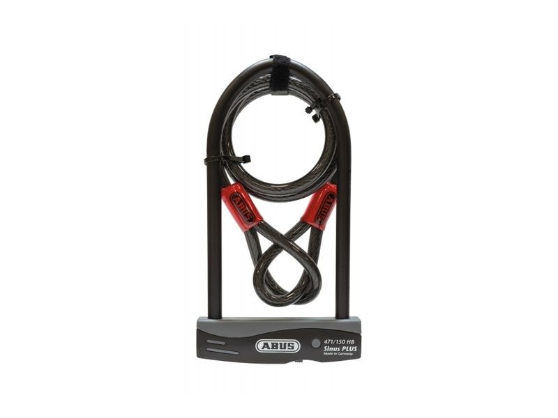 Abus Sinus Plus and Cable 230mm click to zoom image