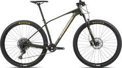 Orbea Alma 27 M50 S Green/Gold  click to zoom image