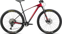 Orbea Alma 27 M25 S Red/Black  click to zoom image