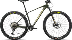Orbea Alma 29 M25 S Green/Gold  click to zoom image