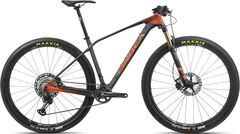 Orbea Alma 29 M10 S Black/Orange  click to zoom image