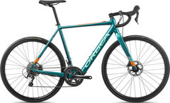 Orbea Gain D40 XS Turquoise/Orange  click to zoom image