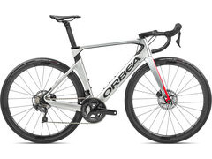 Orbea Orca Aero M20Team 47 Silver-Red-Carbon  click to zoom image