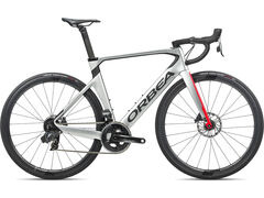 Orbea Orca Aero M21eTeam 47 Silver-Red-Carbon  click to zoom image