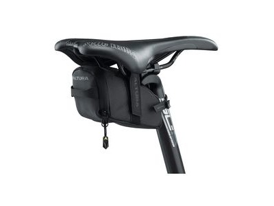 Altura Nv Road Saddle Small Bag: Black 0.4 Litre