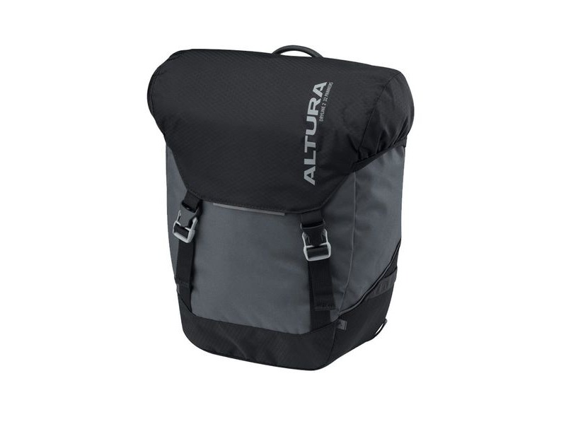 Altura Dryline 2 32l Panniers (pair): Grey/black 32 Litre click to zoom image