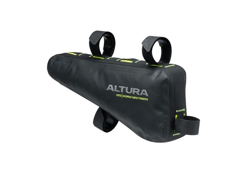 Altura Vortex Waterproof Compact Frame Pack 2017: Black 2.5 Litre click to zoom image