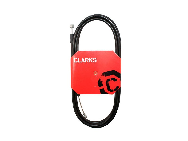 Clarks Universal Galvanised Rear Brake Cable W/2P Black Outer Casing click to zoom image