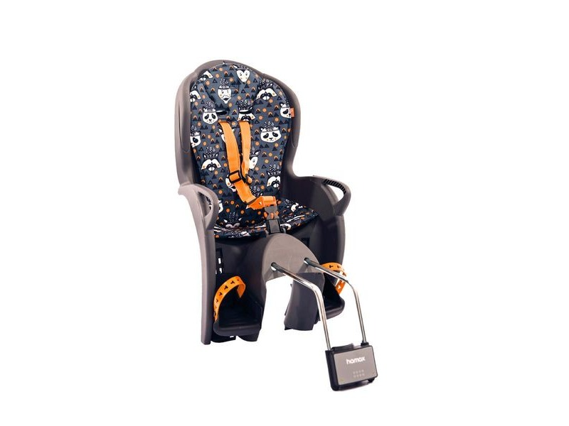 Hamax Kiss Rear Mounted Childseat click to zoom image