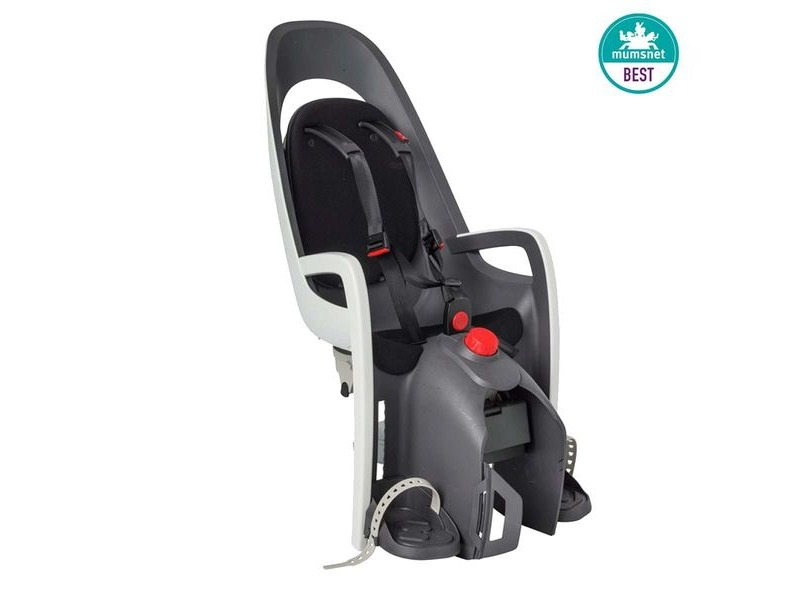 Hamax Caress Rear Pannier Rack Mount Childseat White/Black click to zoom image