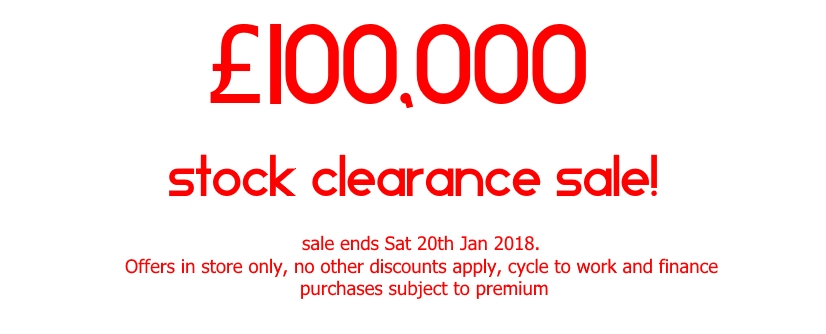 CycleStreet York End of Year sale